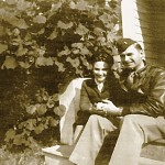Al and Mary Faragher - 1945