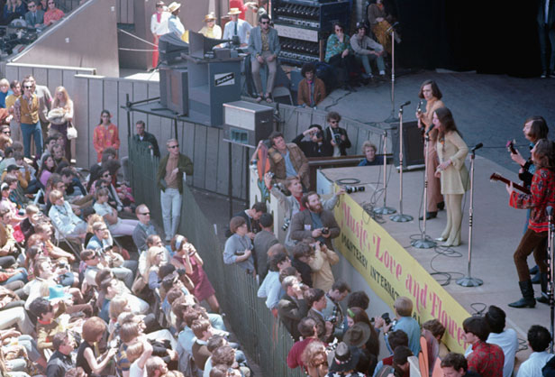 Janis Joplin Performing at Monterey Pop Festival