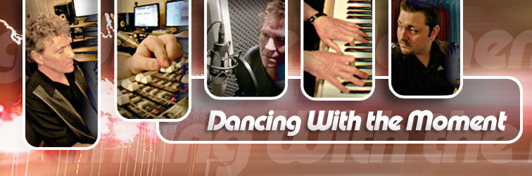 Banner discussing the upcoming album for Danny Faragher - Dancing with the Moment by Danny Faragher