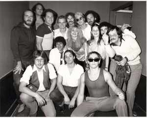 Backstage at Starwood Sept, '79