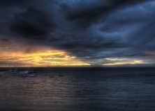 Dark-Clouds-Over-Ocean-Wallpaper